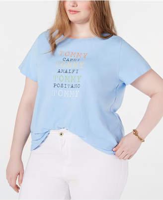 Tommy Hilfiger Plus Size Graphic T-Shirt