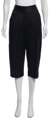 L'Agence Cropped Wide-Leg Pants