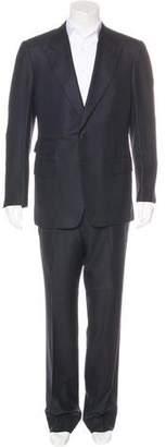 Tom Ford Silk-Blend Peak-Lapel Suit