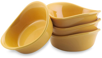 Rachael Ray Lil' Saucy Dipping Cups (Set of 4) - Yellow
