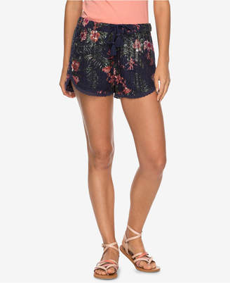 Roxy Juniors' Wild Red Earth Printed Soft Shorts