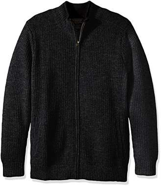 Pendleton Men's Shetland Full-Zip Cardingan Sweater
