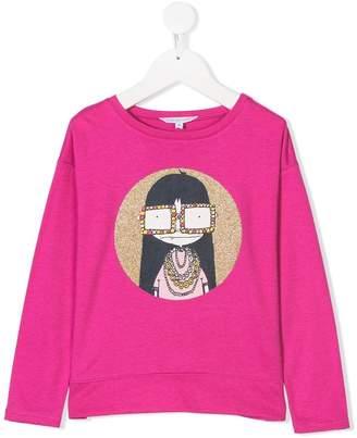 Little Marc Jacobs Miss Marc long sleeve T-shirt