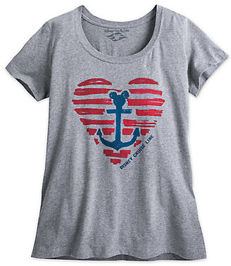 Disney Cruise Line Heathered Tee for Women $29.99 thestylecure.com