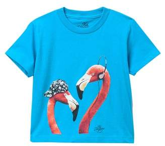 Kid Dangerous Flamingo Hipsters Tee (Toddler & Little Boys)