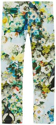 Roberto Cavalli Garden Print Leggings