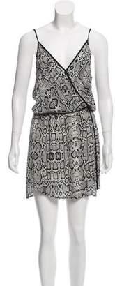 Vix Paula Hermanny Printed Sleeveless Dress