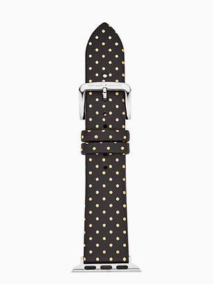 Kate Spade Black dot leather 38/40mm apple watch® strap