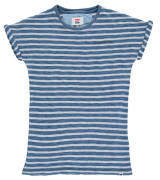Tumble ́n Dry T-Shirt, Baumwolle, Streifen, umgeschlagene Ärmel, für Jungen