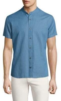 J. Lindeberg Daniel Linen& Cotton Shirt