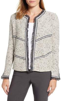 Nic+Zoe All Angles Tweed Cardigan (Regular & Petite)