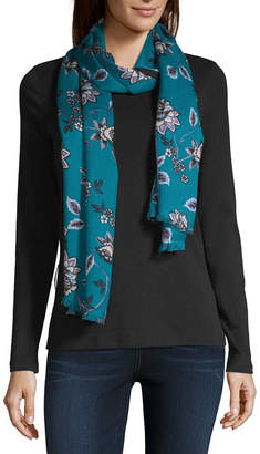 Liz Claiborne Floral Pashmina-Style Scarf