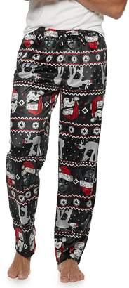 Star Wars Licensed Character Men's Stormtrooper Holiday Sleep Pants