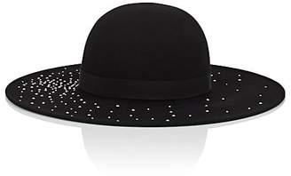 Eugenia Kim Women's Honey Wool Felt Wide-Brimmed Hat