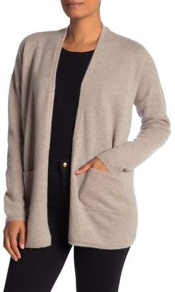 Magaschoni M BY Open Front Cashmere Cardigan