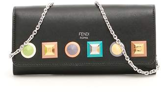 Fendi Leather Rainbow Wallet