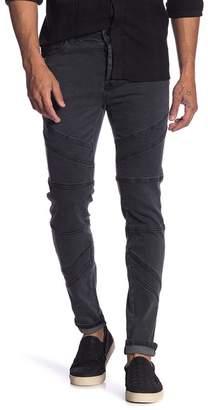 nANA jUDY Axis Leg Design Signature Jeans