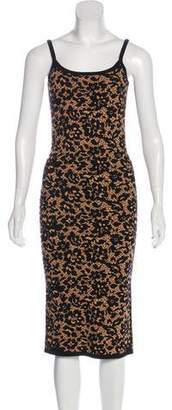 Michael Kors Sleeveless Midi Dress