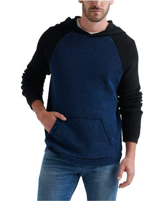 Lucky Brand Men Colorblock Thermal Hoodie