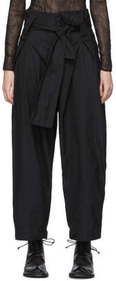 Issey Miyake Black Tortelli Trousers