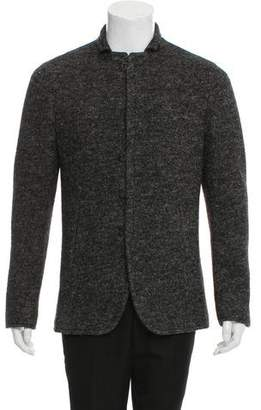 John Varvatos Wool Hook-Close Jacket w/ Tags