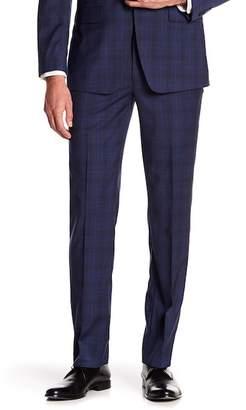 Calvin Klein Wool Window Pane Pants