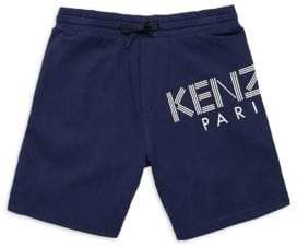 Kenzo Toddler's, Little Boy's& Boy's Logo Sweatshorts
