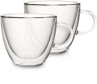 Villeroy & Boch Artesano Hot Beverages Large Cup, Set of 2 3 3/4 in