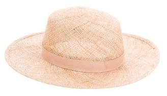 Janessa Leone Calla Straw Hat