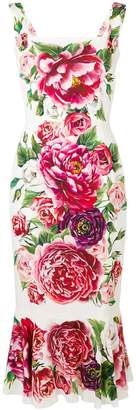 Dolce & Gabbana floral-printed dress