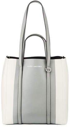 Marc Jacobs The Textured Colorblock Tote Bag