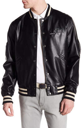Members Only Bleeker Varsity Jacket $150 thestylecure.com