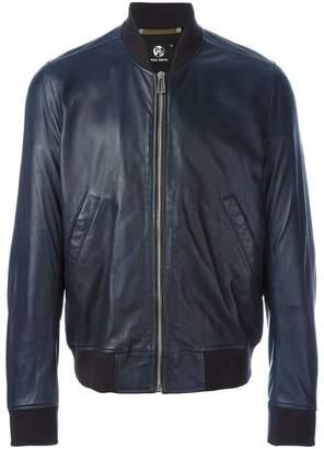 Paul Smith zipped leather jacket