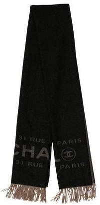 Chanel Cashmere Fringe Stole