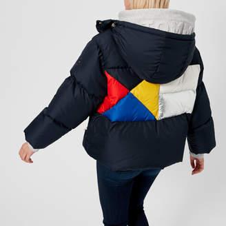 Tommy Hilfiger Women's Ivan Colourblock Super Down Jacket