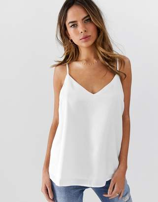 Asos DESIGN Fuller Bust eco swing cami with double layer