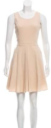 Rachel Zoe Wool Pleated Dress
