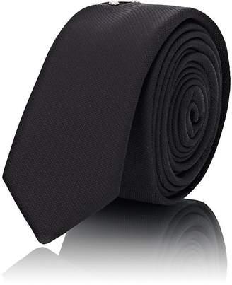 Saint Laurent Men's Studded Silk Necktie
