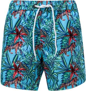 Snapper Rock Jungle Fever Swim Trunks