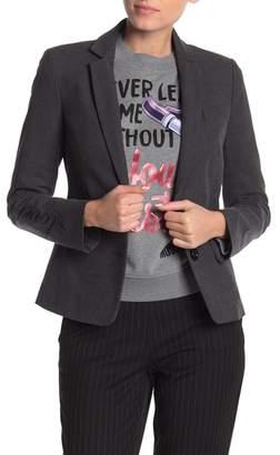 Love Moschino Front Button Solid Blazer