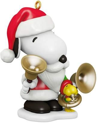 Hallmark Peanuts Spotlight on Snoopy Bell-Ringer Snoopy 2018 Keepsake Christmas Ornament