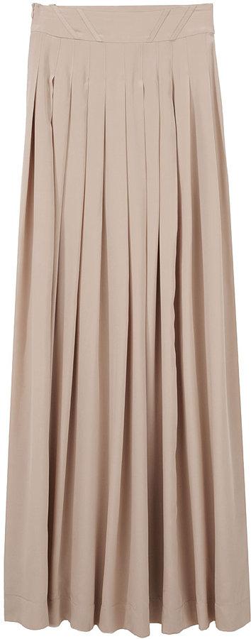 Lover / Silk Maxi Skirt