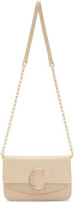Chloé Beige C Chain Clutch Bag