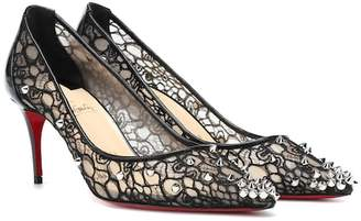 71f408dad44a Christian Louboutin Lace 554 70 spiked pumps