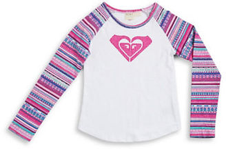 Roxy Girls 7-16 Fair Isle Knit Top $24 thestylecure.com