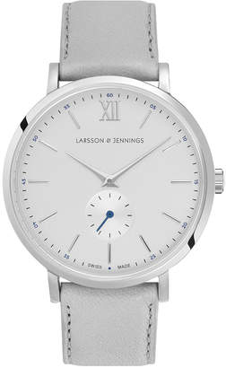 Larsson & Jennings Lugano Kulor 38mm Watch Silver