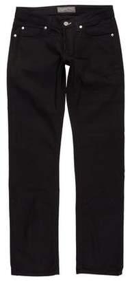Acne Studios Low-Rise Straight-Leg Jeans