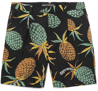 Wacko Maria Printed Canvas Shorts