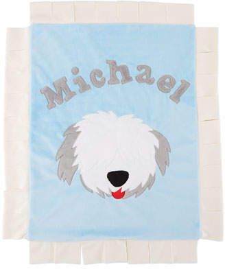 Boogie Baby Pup Love Plush Lovey, Blue