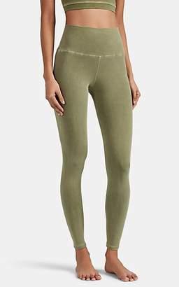 Electric & Rose Women's Sunset Stretch-Cotton Leggings - Green